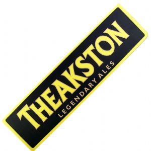 Theakston Ales Large Bar Wetstop Runner  890mm x 240mm   (pp)